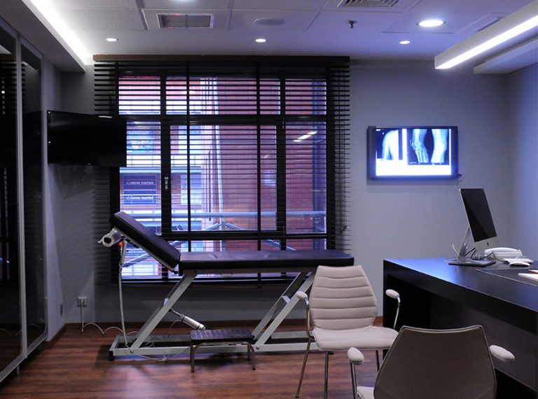 Orthobiology Syrgery Center Χώρος εξέτασης